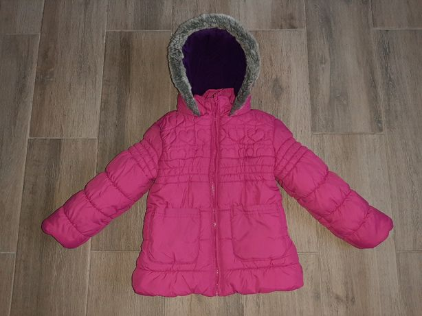 Зимняя куртка M&S 4-5лет
