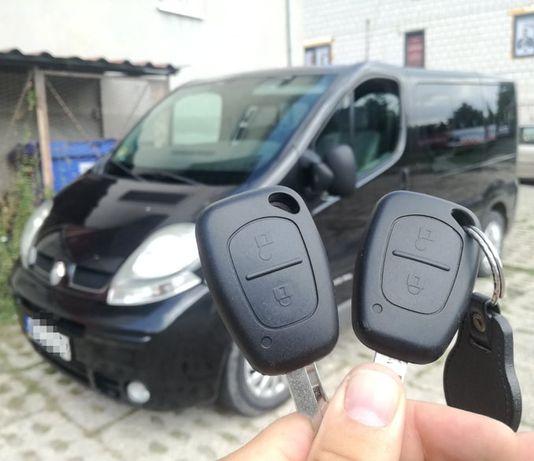 Trafic Renault kluczyk, immobilizer, pilot - naprawa i programowanie