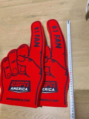 Gadżet kibica Łapka #1 Fan ESPN America czerwona Foam Finger NFL