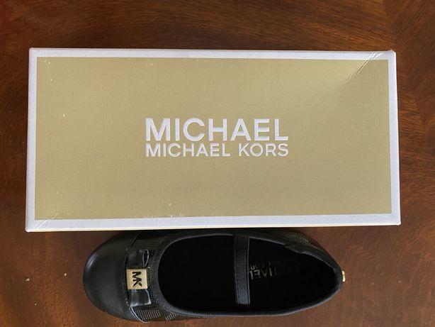 Michael Kors balerinki pantofelki lakierowane 30 MK