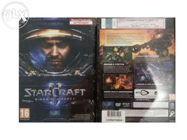 Jogo Starcraft Wing of liberty