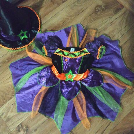 Платье новогоднее, карнавальное для фотосессии фирмы Tu на 9-12 мес