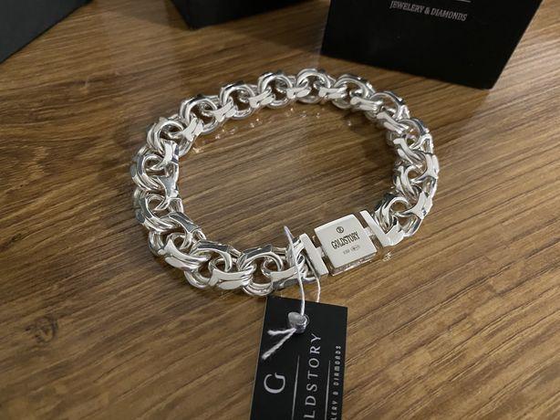 Серебряный браслет АРАБКА 55 грамм