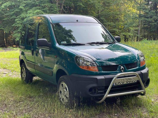 Renault kangoo 4x4 1.9dti 84km sprzedam/zamienie