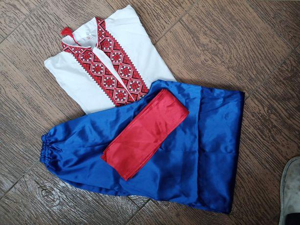 Вишиванка, шаровари, костюм козака дитячий на 8-10 років.