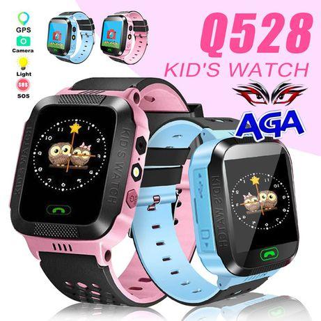 SmartWatch GPS Zegarek DLA DZIECI Lokalizator Q528 Slot Na Kartę Sim