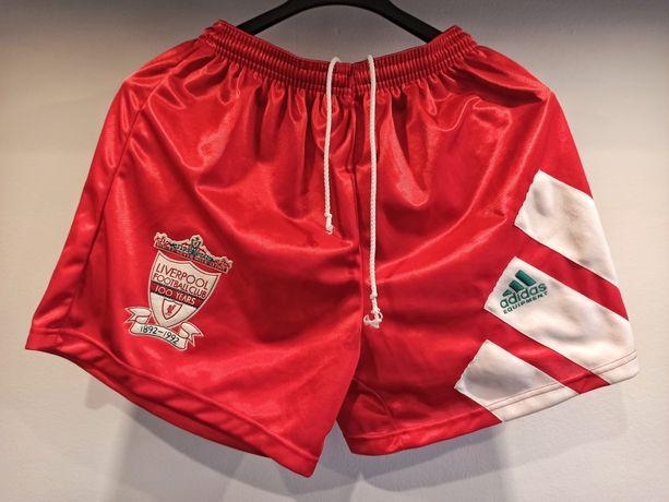 Adidas spodenki RETRO Liverpool sezon 92/93 100lecie klubu