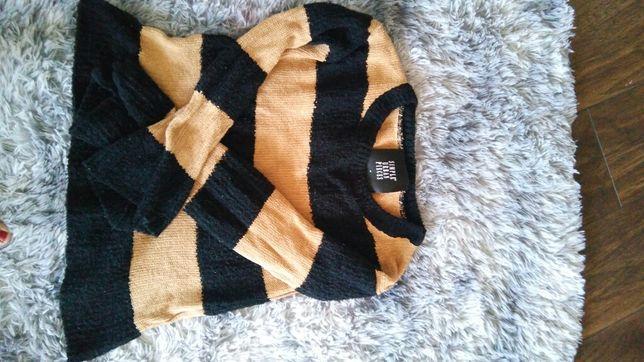 Simple M sweter paski M