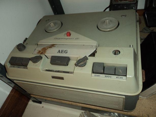 AEG Telefunken Gravador bobines vintage MAGNETOPHON 96