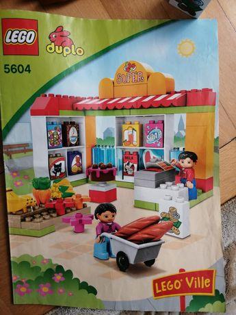 Lego duplo sklep supermarket nr 5604