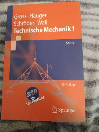 Технічна механіка на німецькій.
