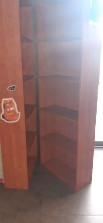 Armário com estantes