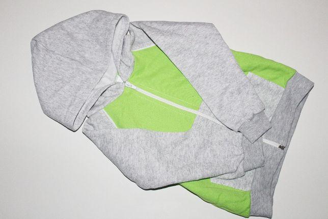 Nowa bluza z kapturem, rozpinana na zamek - rozm 92!