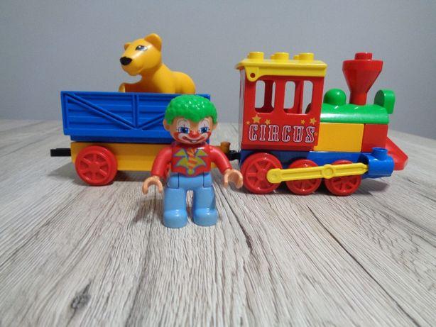Lego Duplo 5606 Mój Pierwszy Pociąg Cyrk Klaun