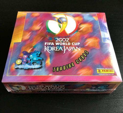 Caixa selada Cartas Panini Mundial 2002 Coreia/Japão