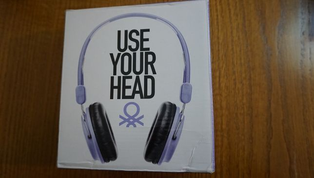 HeadPhones Benetton ( Novos )