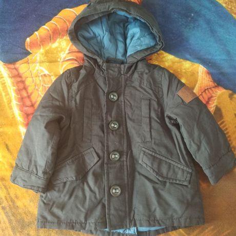 Куртка, парка на мальчика 74см осень-весна Zara Babyboy