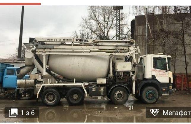 Виготовлення та доставка якісного бетону