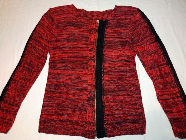 Sweterek młodzieżowy czerwony 38-40