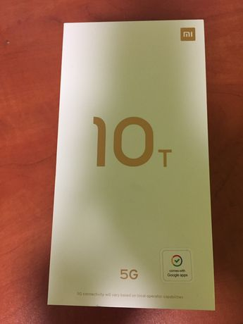 Mi 10T 5G 6 GB RAM Cosmic Black 128GB