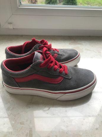 Buty, trampki tenisówki VANS R 32 skórzane