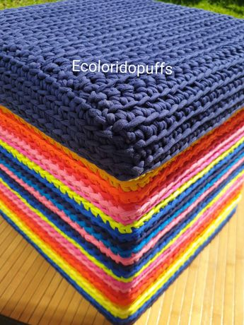 Caixa puff Ecoloridopuffs