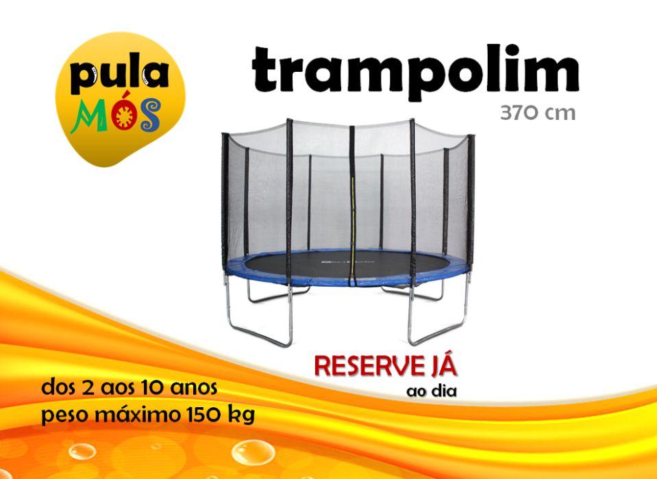 Aluguer Trampolim 3,70m Porto De Mós - São João Baptista E São Pedro - imagem 1
