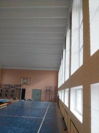 Сетка заградительная для спортзала