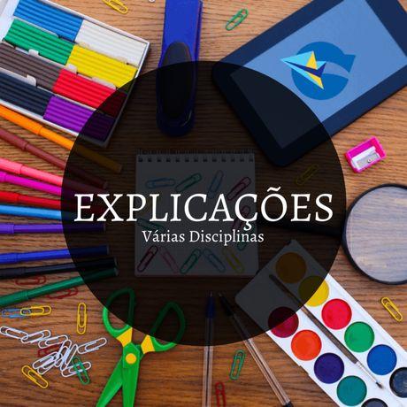 Explicações (Varias disciplinas)