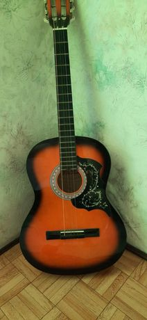 sprzedając gitarę