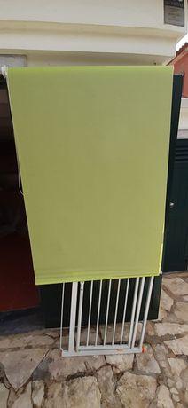 Estore de rolo verde 1,50x94