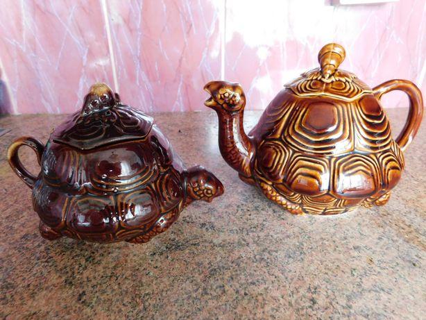 Заварник и сахарница черепахи