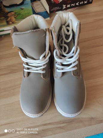 Buty zimowe trapery dziewczęce NOWE