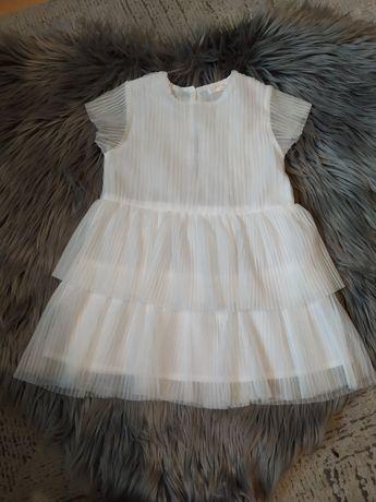 Sukienka plisowana rozmiar 86.