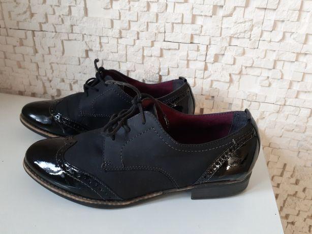 Ботинки туфли полусапожки в идеале кожа фирма 40