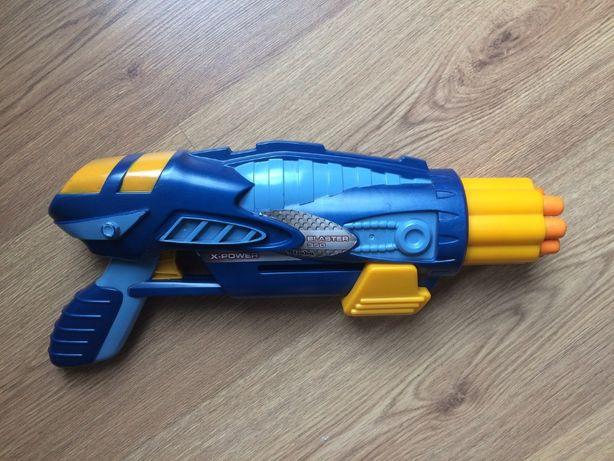 Pistolet wyrzutnia X-Power Blaster 350 Simba - Wrocław