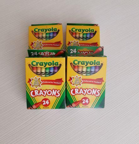 Восковые карандаши Кройола. Crayola карандаши оригинал. Мелки