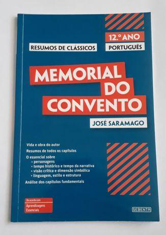 """Livro de resumos """"Memorial do Convento"""" - José Saramago"""