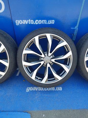 GOAUTO комплект дисков Audi 5/112 r20 et45 8.5j dia66.6 с рез 255 35 r
