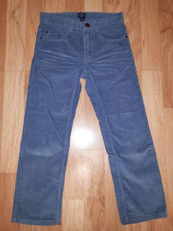 Spodnie chłopięce sztruksy Kiabi 116cm