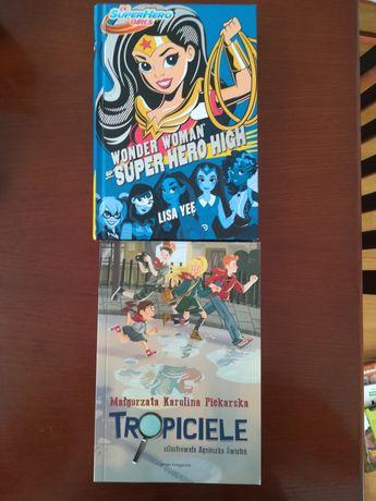 Tropiciele M. K. Piekarska Wonder Woman w Super Hero High Lisa Yee