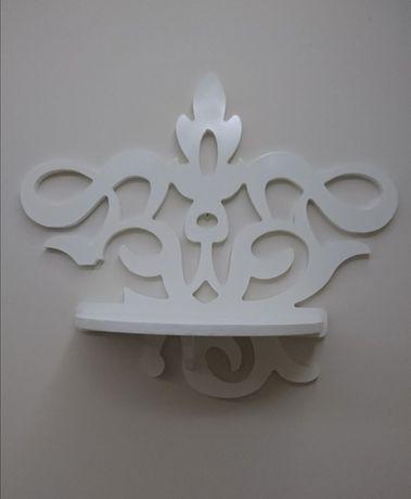 Półka wisząca kwietnik dekoracja kwiaty