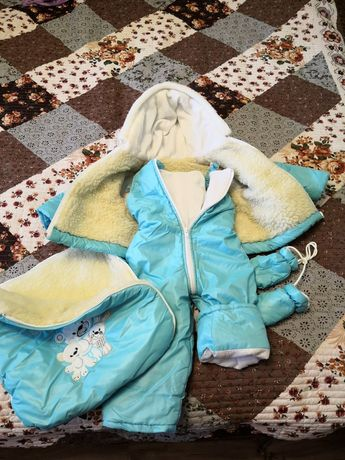 Зимняя куртка, комбинезон