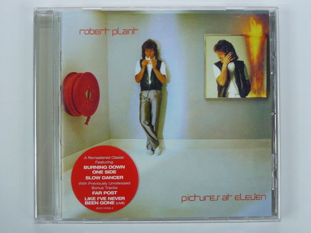 cd Robert Plant - Pictures at Eleven 2007 EU ex Led Zeppelin GERMANY