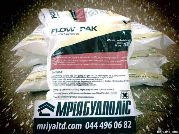Пусковая смесь химия стартовая смесь для бетононасоса FLOW PAK