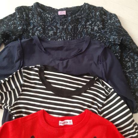Zestaw bluzek w rozmiarze 134-140