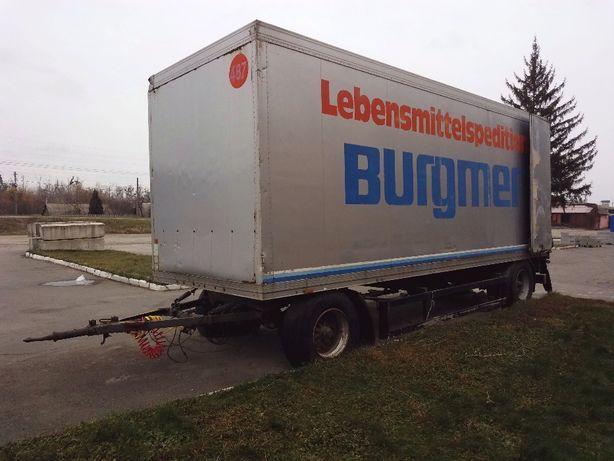 Продам изотермический прицеп Schmitz! Оси BPW.