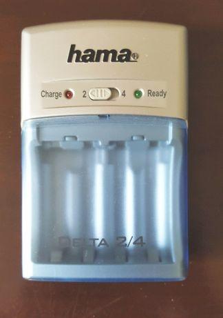Ładowarka Hama Delta mikroprocesorowa, AA i AAA, sieć i auto