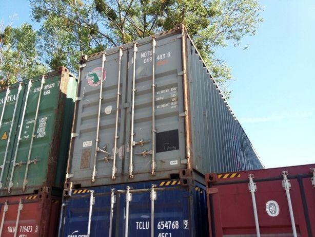 Kontener 40HC 12-metrowy morski garaż budowlany magazyn