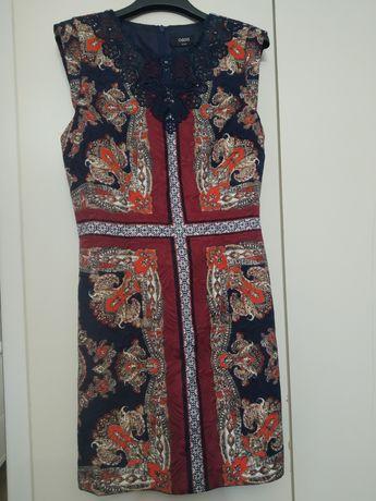Платье яркое Oasis 38